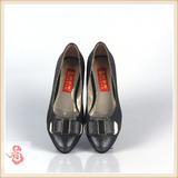 老北京布鞋女鞋蝴蝶结时尚平跟女单鞋