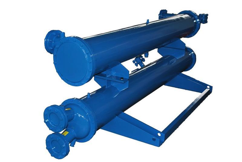 单系统螺杆机换热器 壳管式 蒸发器 空调冷凝器 制