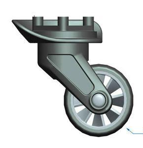 供应LF-1604拉杆箱超轻万向轮旅行箱脚轮