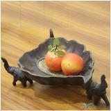 泰国工艺品   果盘D296