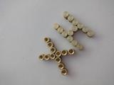 M3滚花铜螺母 网花铜螺母 尖头铜螺母 可非标订制