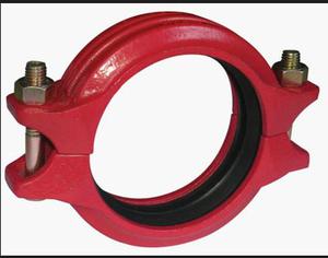 沟槽卡箍管件