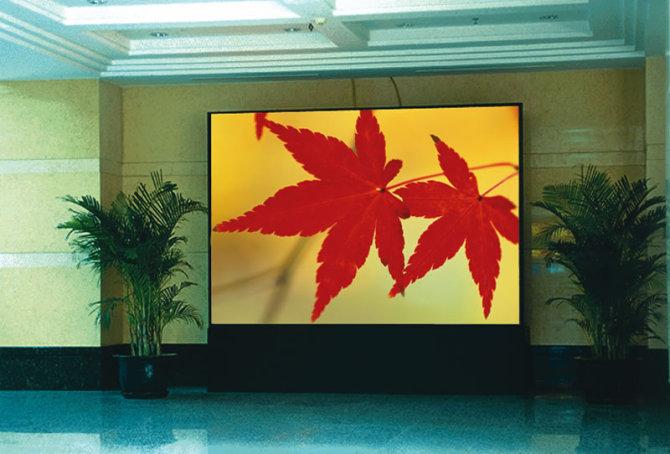 深圳直销 p4全彩led显示屏 室内显示屏图片
