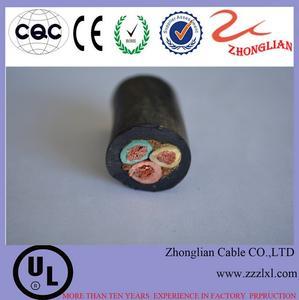 厂家直销橡套软电缆 YC国标3*10 中联线缆