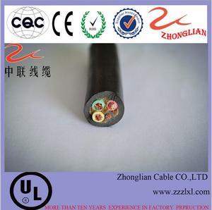厂家直销批发橡套软电缆 YC3*120+1国标缆