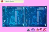 蓝油高档精密双面板PCB