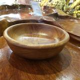 老挝工艺品 草木梨木碗