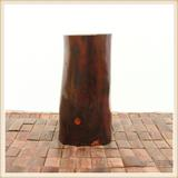 红木工艺品 原木整木 老挝红酸枝木笔筒木罐