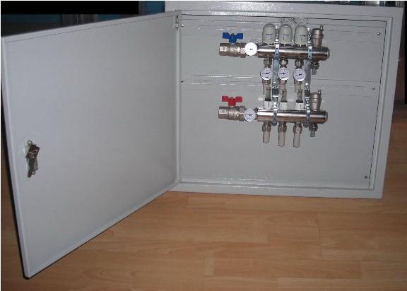 联塑地暖管分水器