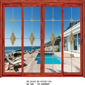 【汉迪森门窗】广州厂家 大量欧式风格 铝合金门窗