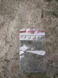 6号自封袋 加厚食品袋分类装 零食收纳袋 塑料封口
