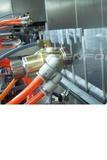 录音笔外壳喷涂生产线,废气采用喷淋与活性炭过滤处理