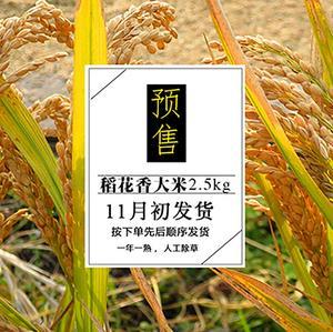 新米预售 11月10日发货谷源五常稻花香2.5kg
