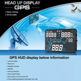GPS hud抬头显示器车充 平视显示器 时速 时