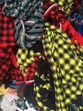 库存布料批发 布头批发摇粒绒印花布头