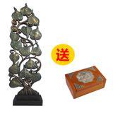 泰国工艺品 绿箔菩提树摆件