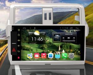 10.2寸安卓智能大屏GPS导航14款丰田霸道