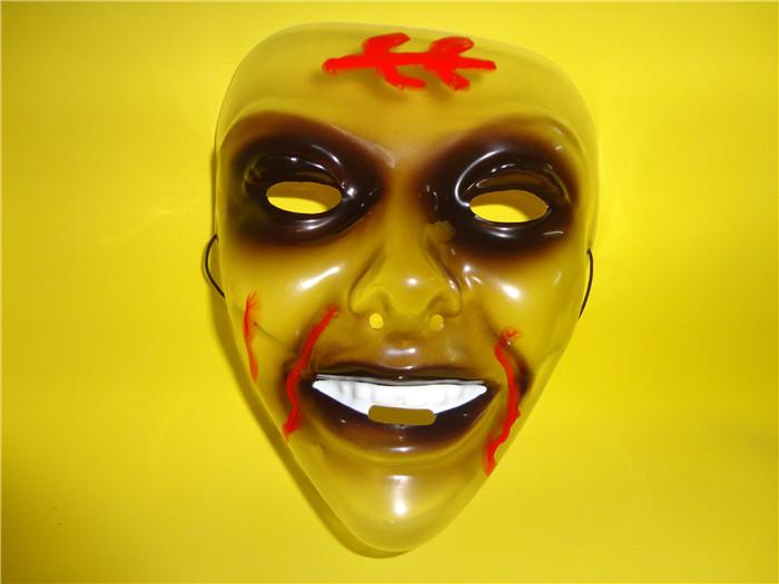 万圣节用品乳胶面具搪胶面具欧美热销面具鬼节用品深圳