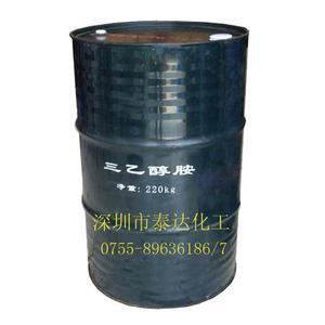 厂价直销:三乙醇胺合成三乙醇胺220KG包装
