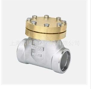 供应   上海宗锟  DH61F不锈钢低温止回阀