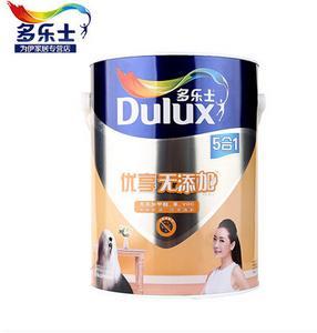 多乐士乳胶漆正品优享五合一无添加优质墙面漆环保内墙