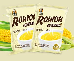 富硒玉米糊纯天然原料 高档老磨香玉米糊