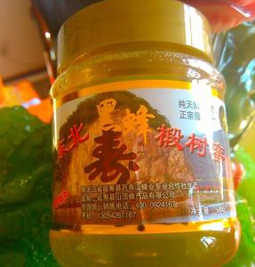 东北纯天然黑蜂椴树原蜜   万寿山 蜂蜜40瓶一箱