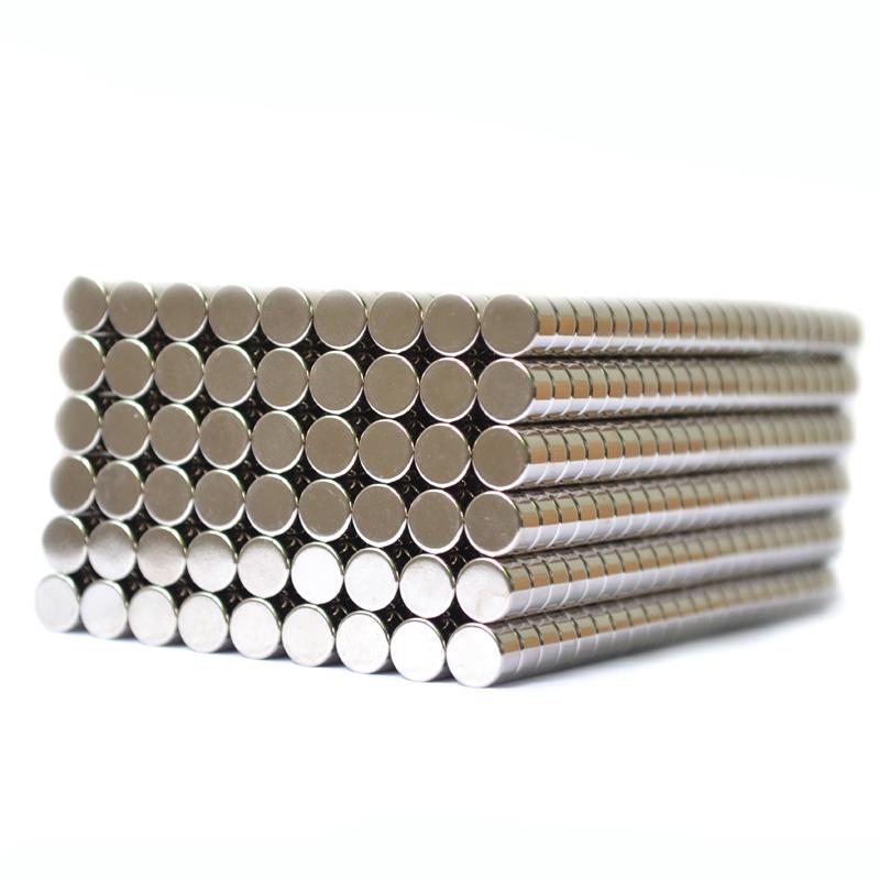 镀镍磁铁 强磁铁 圆形磁铁 喇叭磁铁大图一