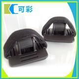 深圳厂家定制 三角形头灯带 单车头灯带 硅胶防滑头