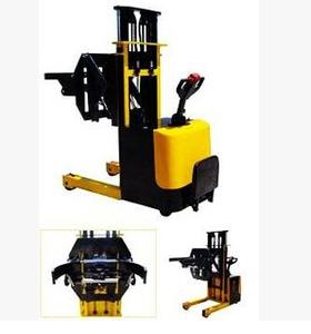 【金茂】全电动油桶翻转车/倒料机,塑料桶倒料车,钢