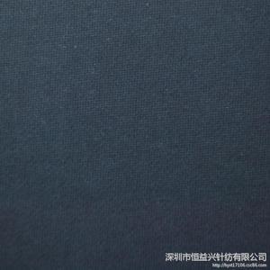 供应 时装针织面料 罗马布深蓝色