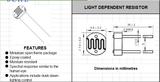 供应直径7毫米光敏电阻