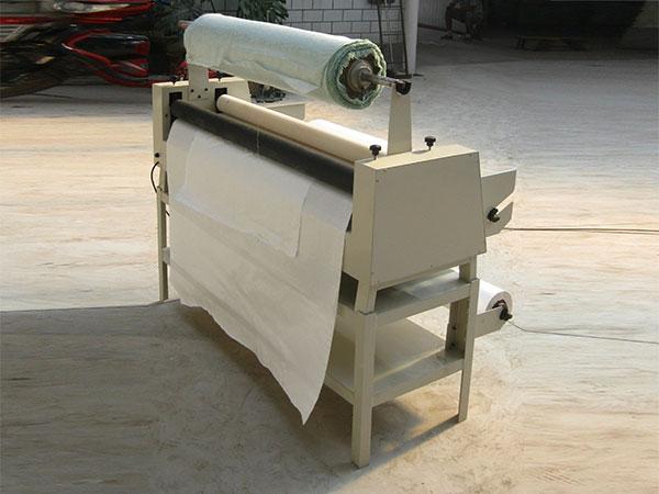 供应全自动滚动式书画装裱机排行图片