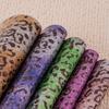 直销 豹纹皮革 印花皮革超纤革 优质鞋包装饰合成革