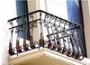铁艺阳台护栏飘窗栏杆扶手装饰欧式室内田园窗户围栏限