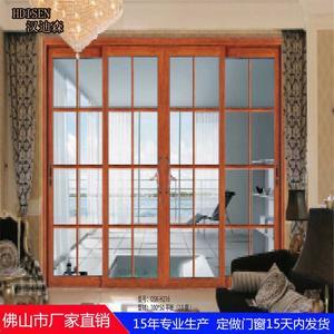 【汉迪森门窗】佛山厂家直销铝合金门窗 衣柜推拉门