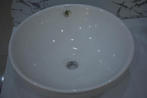 精牧卫浴白色圆形面盆JM-6533