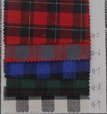 厂家批发 秋冬全棉色织布 磨毛格子布 服装衬衫面料