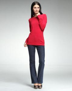 乐都特 女式修身针织套衫 YU420