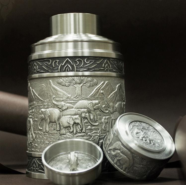 【泰国进口】锡金壶 茶叶罐大图一