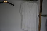 女式白色蕾丝上衣