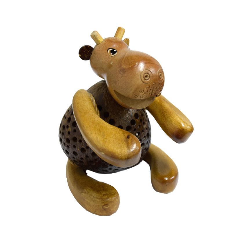 【泰国】纯手工动物造型椰子灯大图一