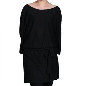 乐都特 女式大水袖针织连衣裙