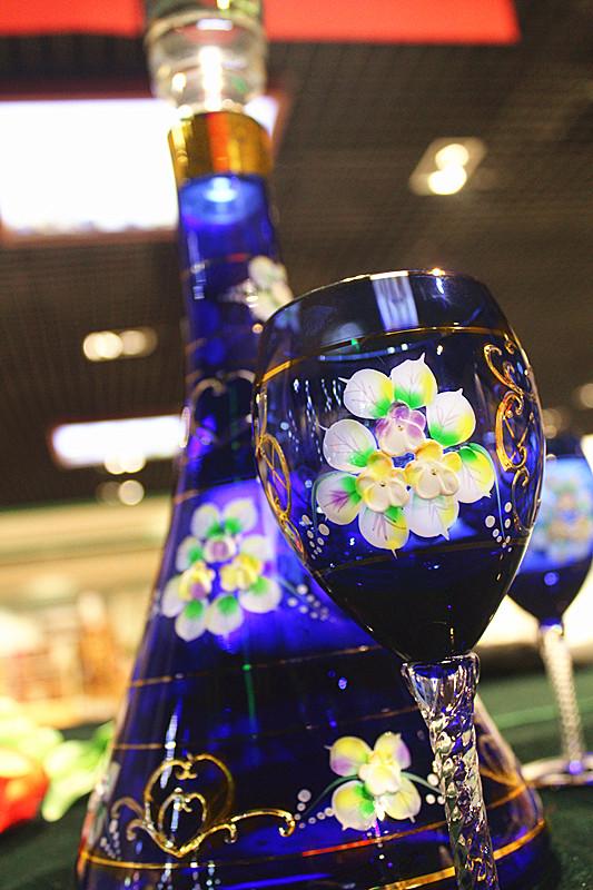 【土耳其】琉璃红酒六杯套组03大图一