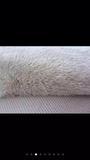 厂家直销库存纯白色柔软羊羔绒毛绒 外套加厚里子