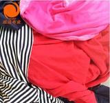 厂家大量供应纯棉各色一米以上不倒绒大布头 保暖衣裤