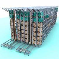 西安自动化立体仓库货架批发西安沃能货架制造