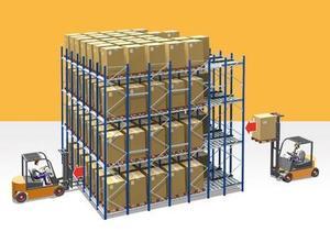 西安重力式货架批发陕西重力式货架批发