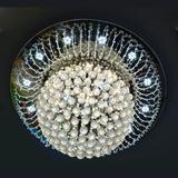 家家照明 水晶灯客厅灯圆形吸顶灯LED