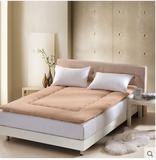 批发可折叠羊羔绒羊毛床垫子学生宿舍双人海绵床垫床褥
